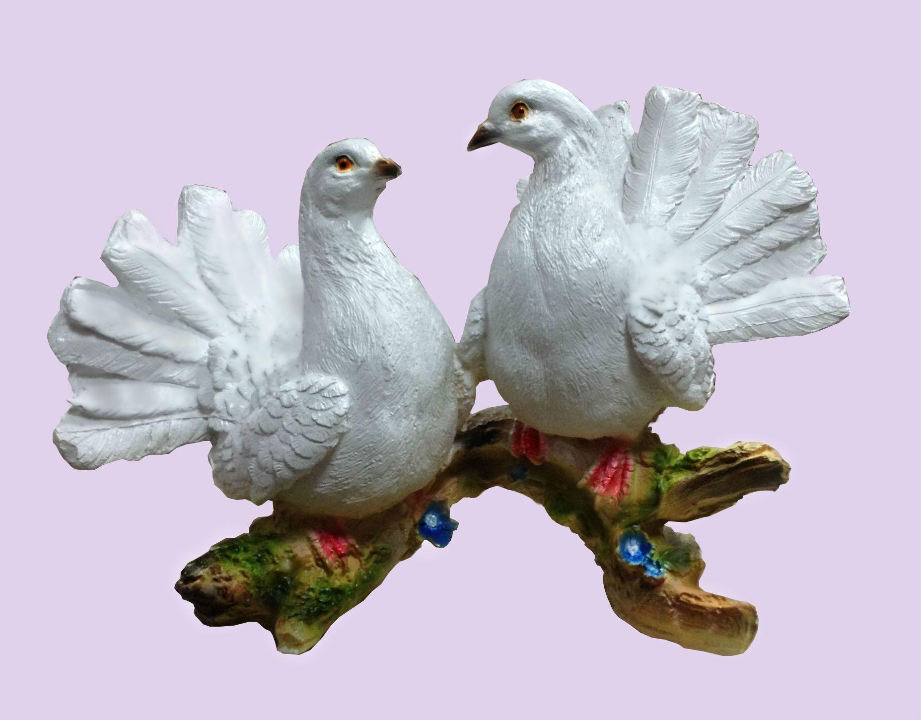 Из чего сделать голубей своими руками
